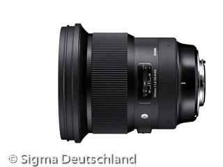Sigma 105mm F1,4 DG HSM A (Bild: Sigma)