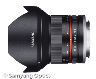 X-Mount Objektiv Samyang 12mm F2.0 NCS CS