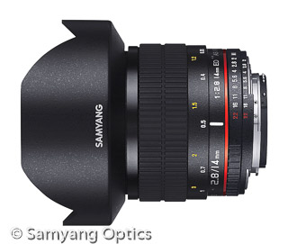 Samyang 14mm F2.8 ED AS IF UMC (Bild: Samyang)