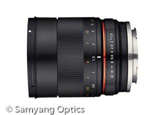MFT Objektiv Samyang 85mm F1.8 ED UMC CS