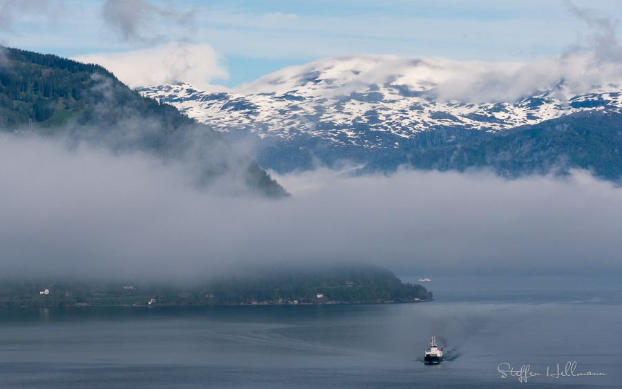 Fähre Utne-Kinsarvik, Hardangerfjord