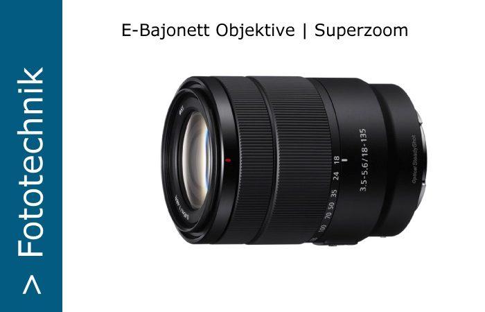 E-Bajonett Superzoom