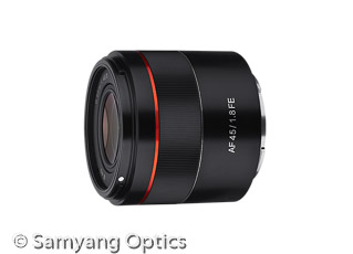 Samyang AF 45mm F1.8 FE (Bild: Samyang)