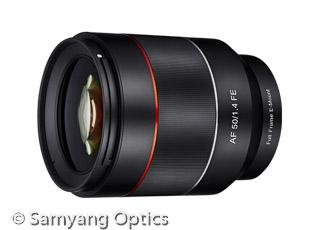 Samyang AF 50mm F1.4 FE (Bild: Samyang)