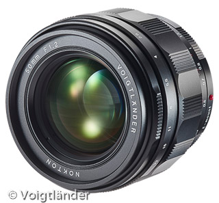 Voigtländer 50mm / F 1,2 Nokton (Bild: Voigtländer)