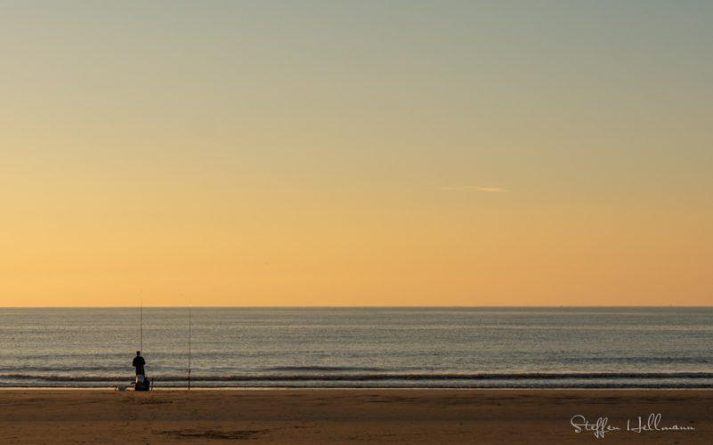 Fischer an der Nordsee bei Domburg
