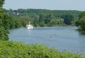Ruhrtal - Weisse Flotte auf der Ruhr bei Mintard von Steffen Hopf