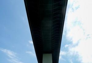 Ruhrtal - Autobahnbrücke A52 über die Ruhr von Steffen Hopf