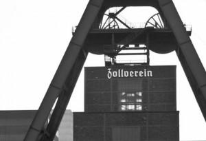 Zeche Zollverein Förderturm von Steffen Hopf