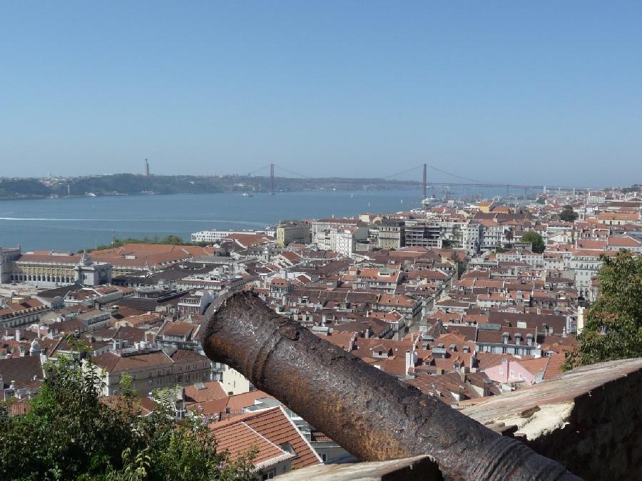Lisboa - Blick auf die Ponte 25 de Abril von Steffen Hopf