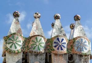 Dach der Casa Batllo von Steffen Hopf.