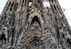 Die Geburtsfassade der Sagrada Familia von Steffen Hopf.