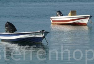 Algarve – einsame Boote