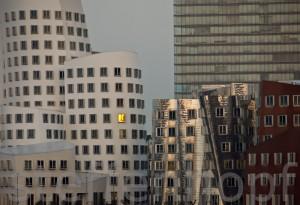Medienhafen Düsseldorf Gehry Bauten von Steffen Hopf