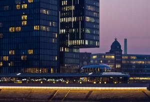 Medienhafen Düsseldorf Hyatt Regency von Steffen Hopf