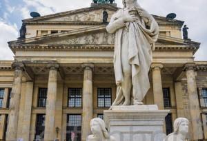 Gendarmenmarkt - Konzerthaus, Schiller-Denkmal, Berlin von Steffen Hopf.