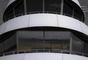Tower am Flughafen Duesseldorf 03 von Steffen Hopf.