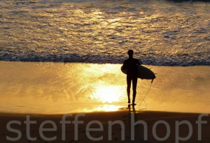 Sonnenuntergang an der Algarve - Praia do Amado 01