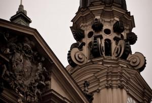 Muenchen - Turm der Theatinerkirche Sankt Kajetan von Steffen Hopf