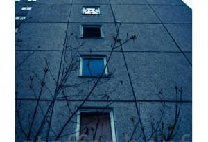 Plattenbau - Ruine einer DDR-Platte in Erfurt 02 von .