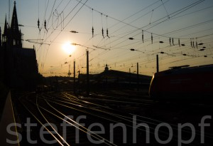 Koeln Hauptbahnhof 04 von Steffen Hopf