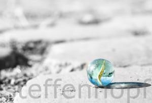 Glasmurmel von Steffen Hopf