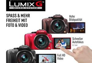 Panasonic Lumix G3 (Bild: Panasonic)