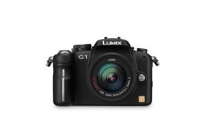 Panasonic Lumix DMC-G1 - Vorderansicht (Bild: Panasonic)