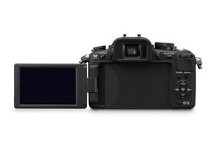 Panasonic Lumix G2 - LCD aufgeklappt (Bild: Panasonic)