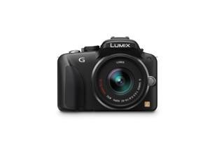 Panasonic Lumix G3 - von vorn (Bild: Panasonic)