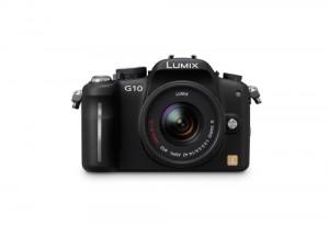 Panasonic Lumix DMC-G10 - von vorn