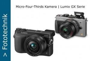 MFT Panasonic Lumix GX Serie