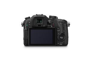 Panasonic Lumix DMC-GH3 - von hinten mit Display (Bild: Panasonic)