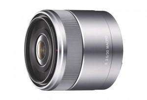 Sony E 30mm Makroobjektiv (Bild: Sony)