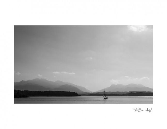Segelboot auf dem Chiemsee (©steffenhopf)