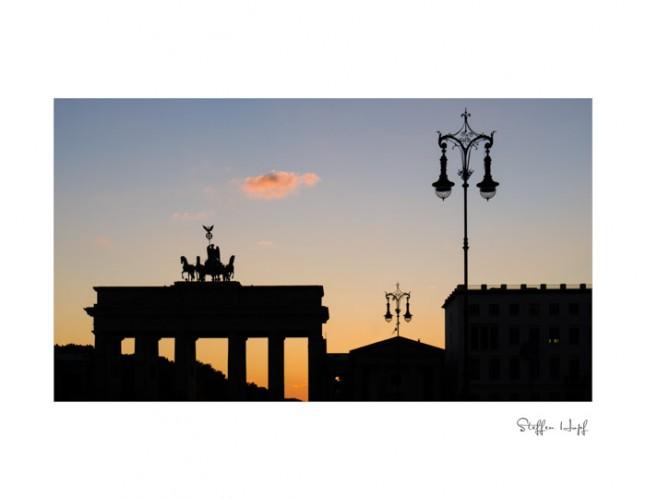 Berlin - Pariser Platz mit Brandenburger Tor ©steffenhopf