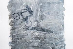 Transferbild Schattenbiker 01