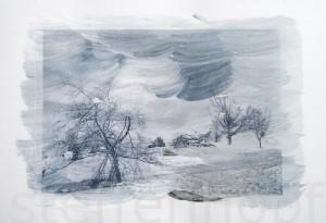 Transferbild Winterberg - rund um den Kahlen Asten