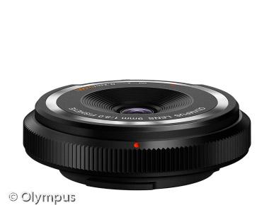 Olympus Body Cap Lens 9mm (Bild: Olympus)