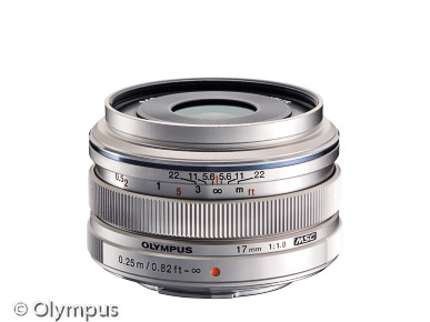 Olympus M.Zuiko Digital 17mm (Bild: Olympus)