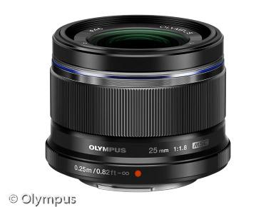 Olympus M.Zuiko Digital 25mm (Bild: Olympus)