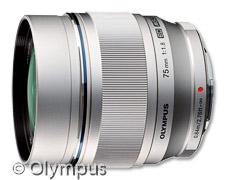Olympus M.Zuiko Digital ED 75mm (Bild: Olympus)