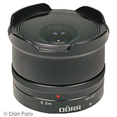 Dörr Fish-Eye 7,4/12mm (Bild: Dörr)