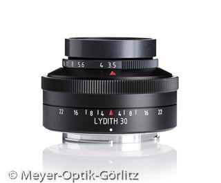 Lydith 30 F3.5 (Bild: Meyer-Optik-Görlitz)